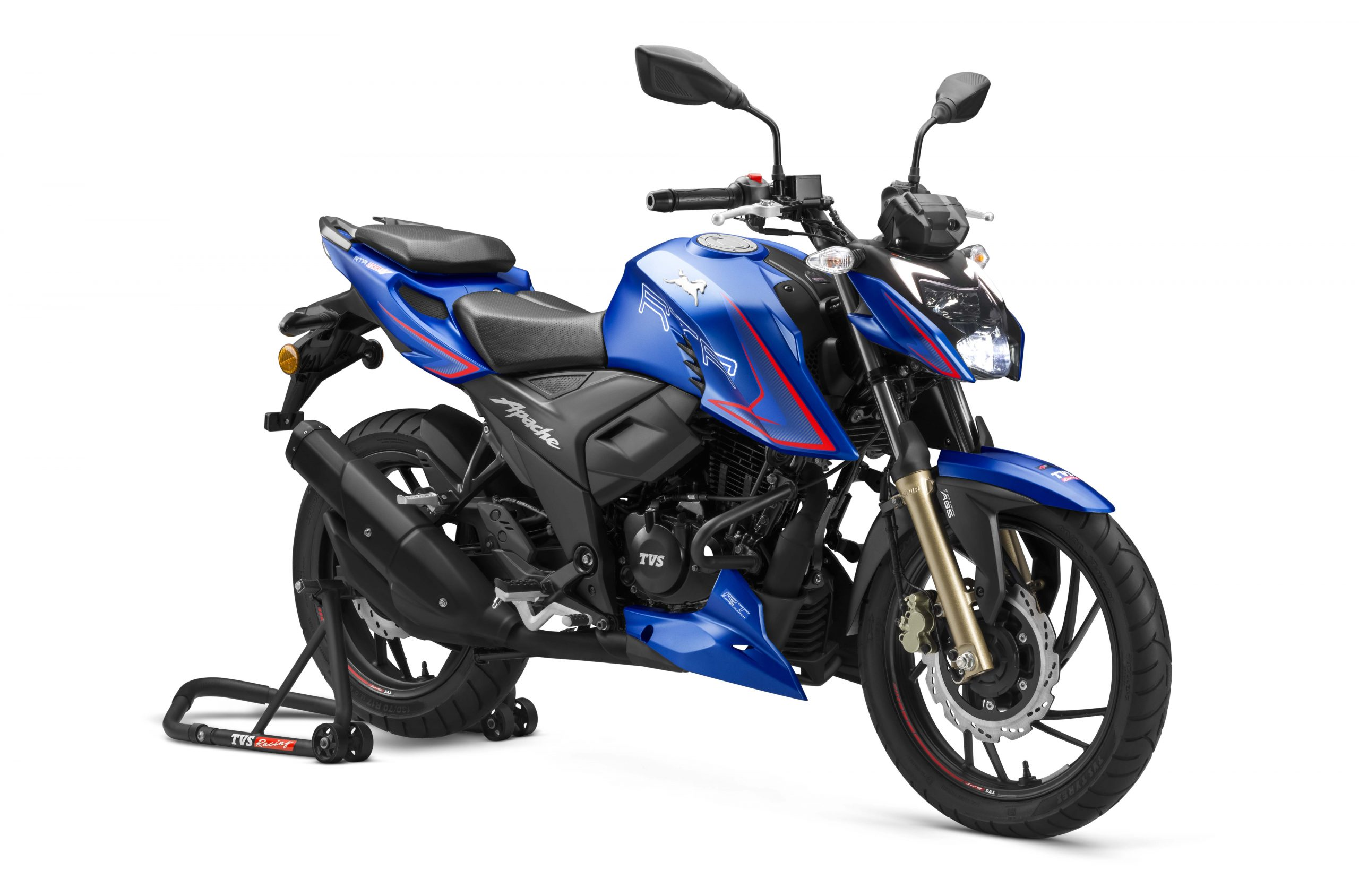 TVS Apache RTR 200 4V with Single-Channel ABS launched @Rs. 1,28,020