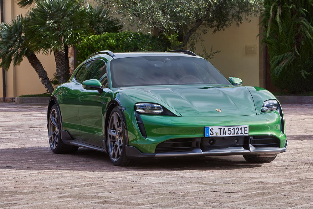 Porsche drives forward electric offensive with new variant of the Taycan, Cross Turismo