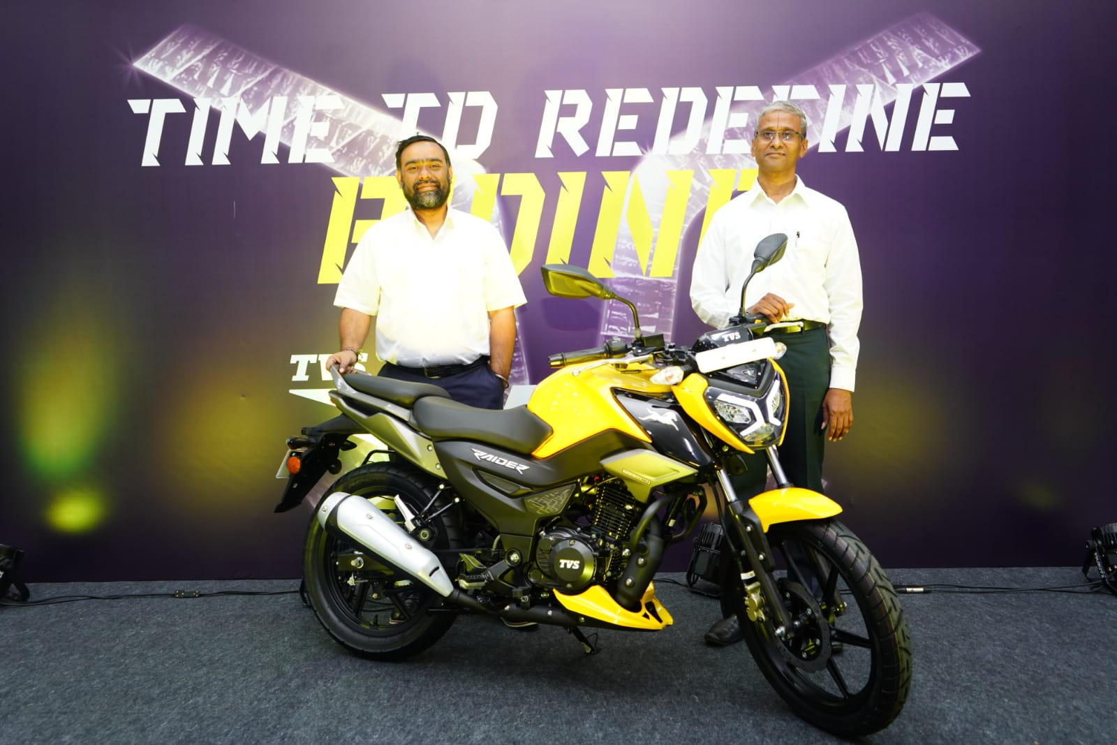 TVS launched Naked Street Design 'TVS Raider'motorcycle@Rs. 77,500